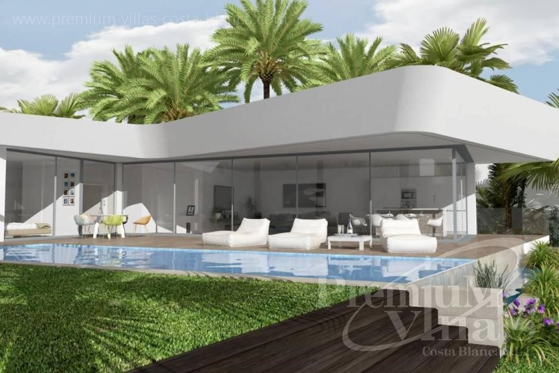 modern villas houses for sale Costa Blanca Spain - C1802 - New construction! Modern house in Benissa for sale 3