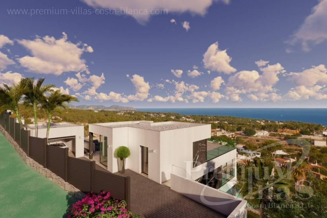 Luxury villa with sea views for sale in Calpe Costa Blanca - C2390 - Modern villa with elevator and sea views in Calpe 6