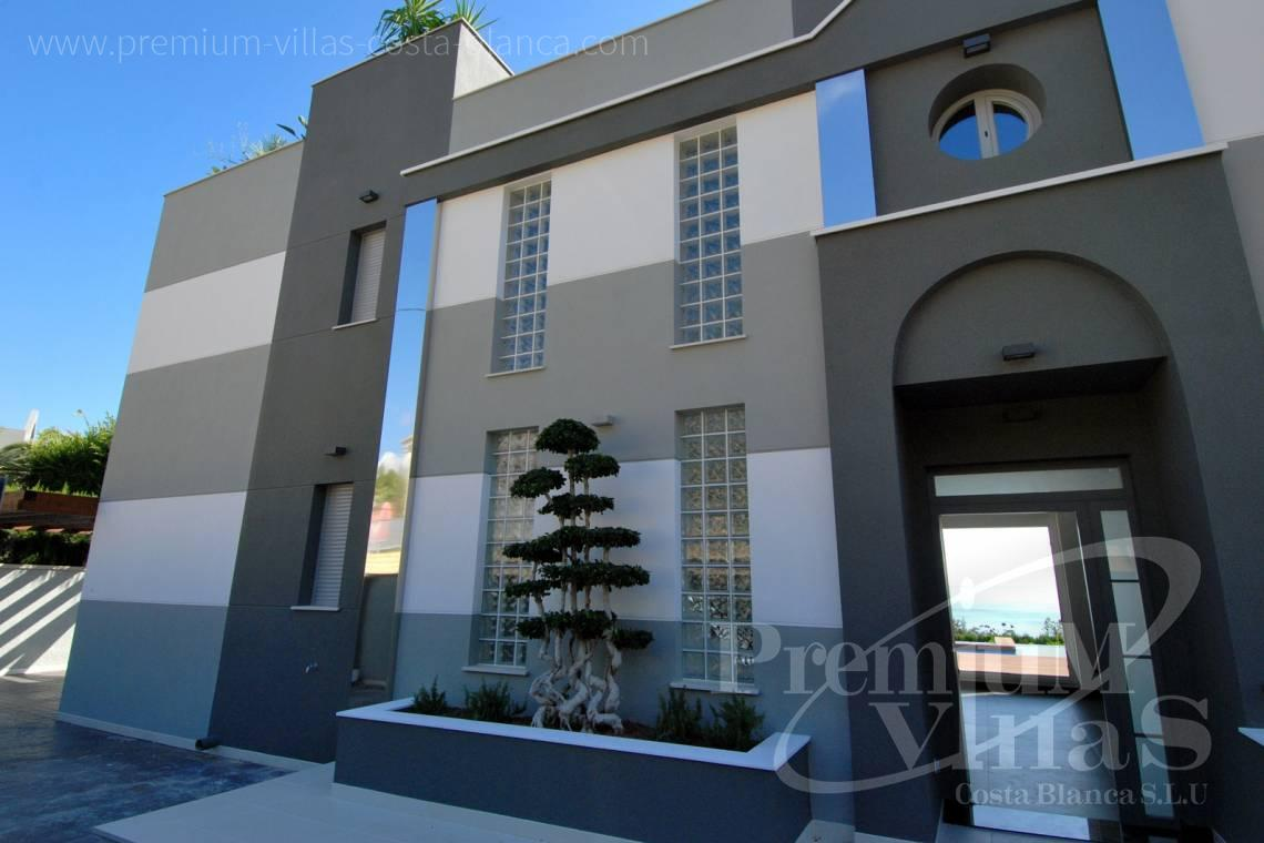 House in Calpe near the sea  - C1645 - 1st sea line: Modern luxury villa with access to the beach in Calpe 5
