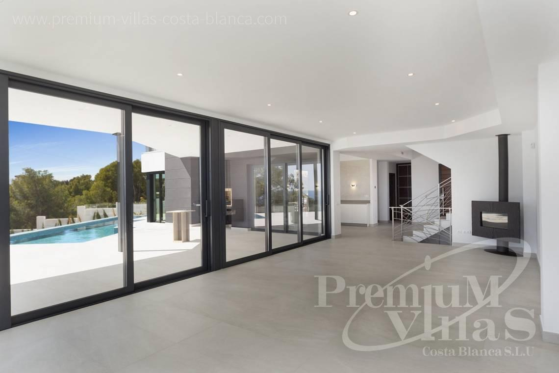 - C2374 - Luxury villa with sea views in Les Bassetes, Calpe 15