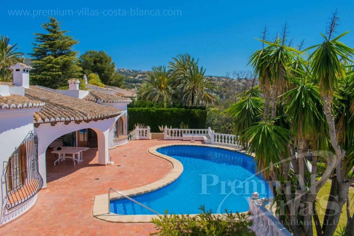 Buy one storey villa in Moraira Costablanca - CC2403 - One storey Mediterranean villa in Moraira 5