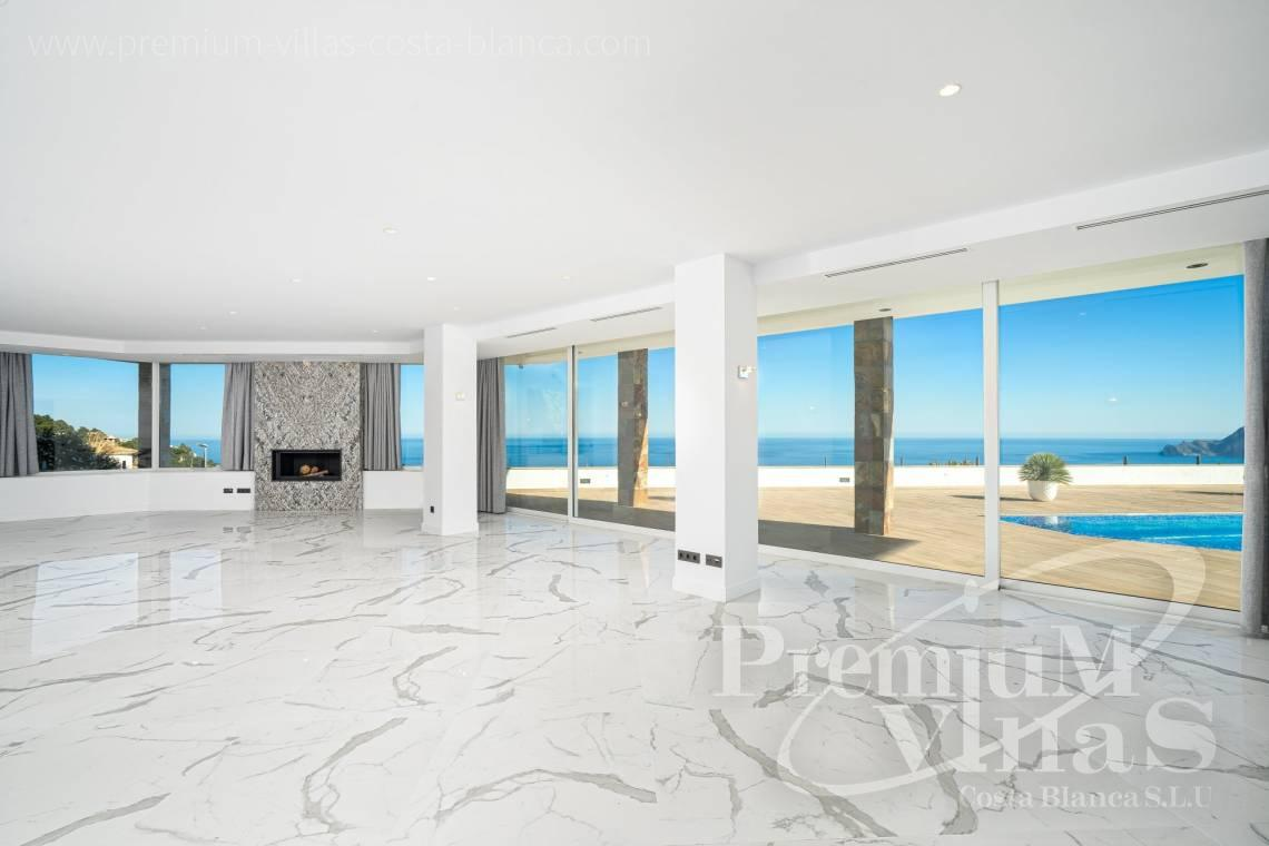Buy a modern luxury villa in Altea Costa Blanca - C2316 - Modern luxury villa with sea views in Altea 9