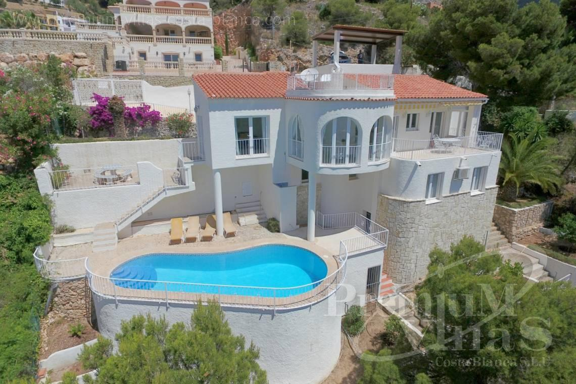 buy house villa Altea Costa Blanca Spain - C2055 - Villa with stunning sea views 1