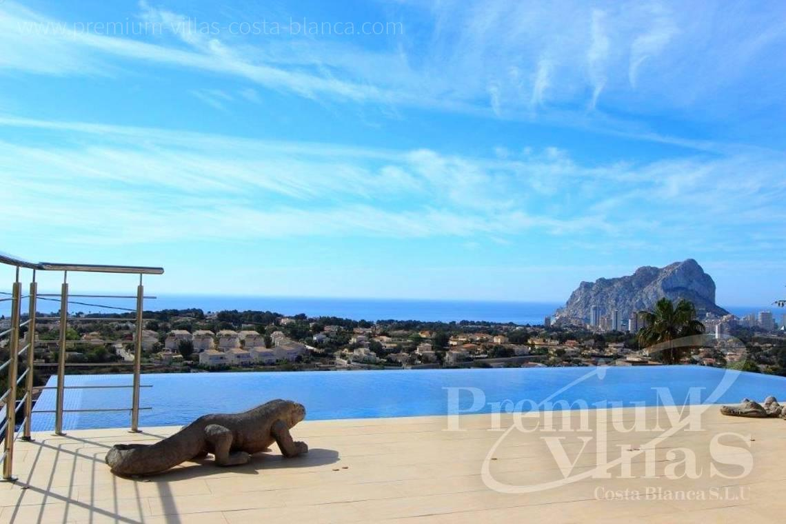modern villas for sale Costa Blanca Spain - C1784 - Modern villa with a lift and great sea views in Calpe 30