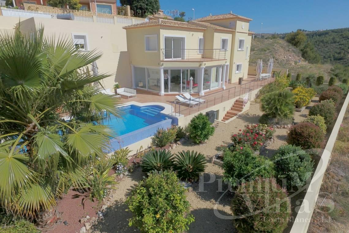 - C2150 - Contemporary villa in quiet area with sea and mountain views 1