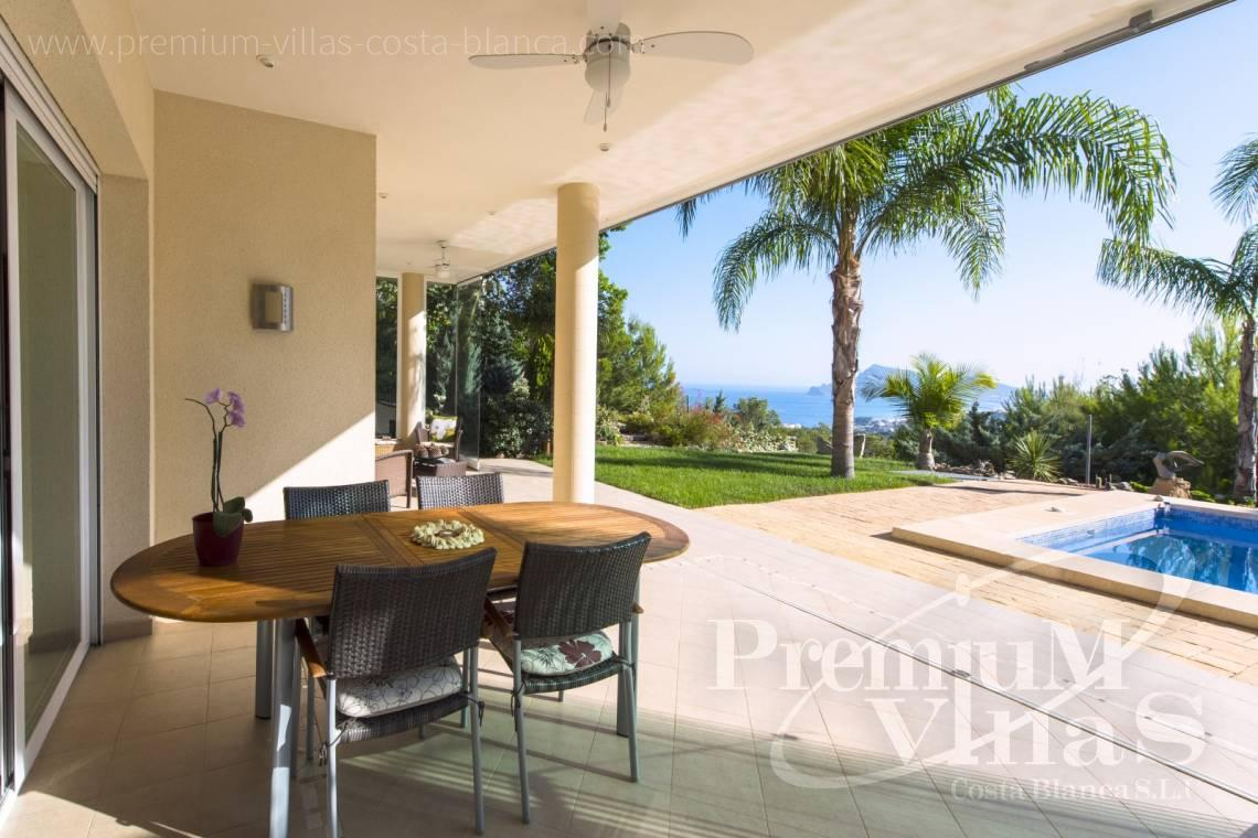 Villas for sale with sea views in Altea - C1265 - Villa with sea views for sale in Altea 30