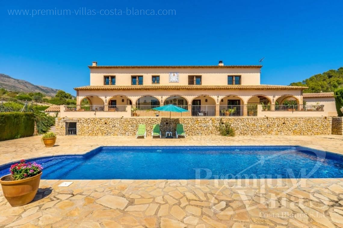finca, land house for sale Benissa Costa Blanca - C2209 - Magnificent finca in Benissa with 10.000m2 of land with stunning mountain views 1