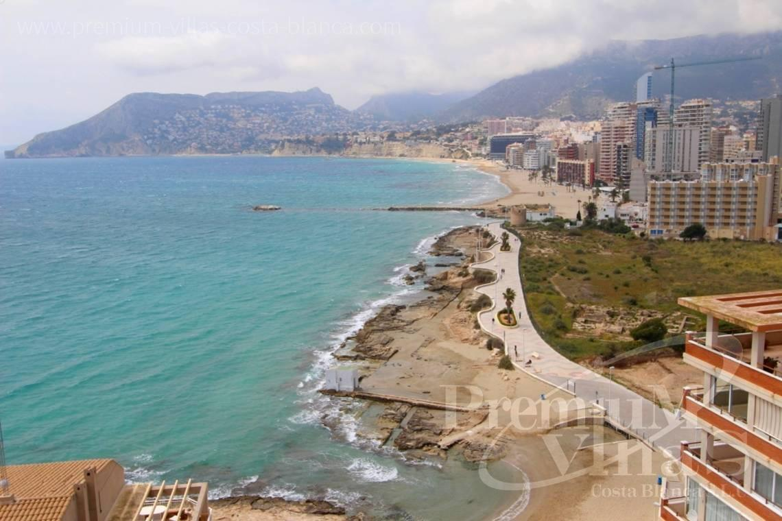Front line apartment Calpe Costa Blanca - A0575 - Apartment in front of the sea with spectacular views of Ifach Rock. 1