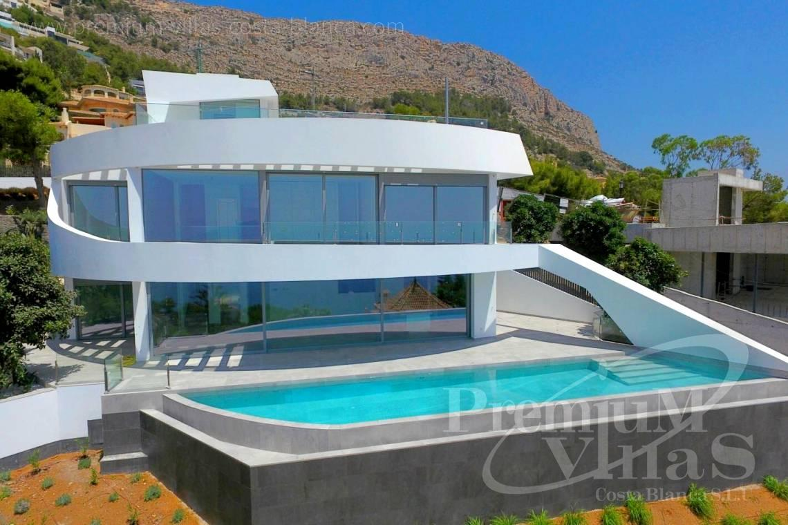 Mansions for sale Altea Costa Blanca Spain - C1915 - Brand new luxury villa in Altea Hills with fantastic sea views! 1