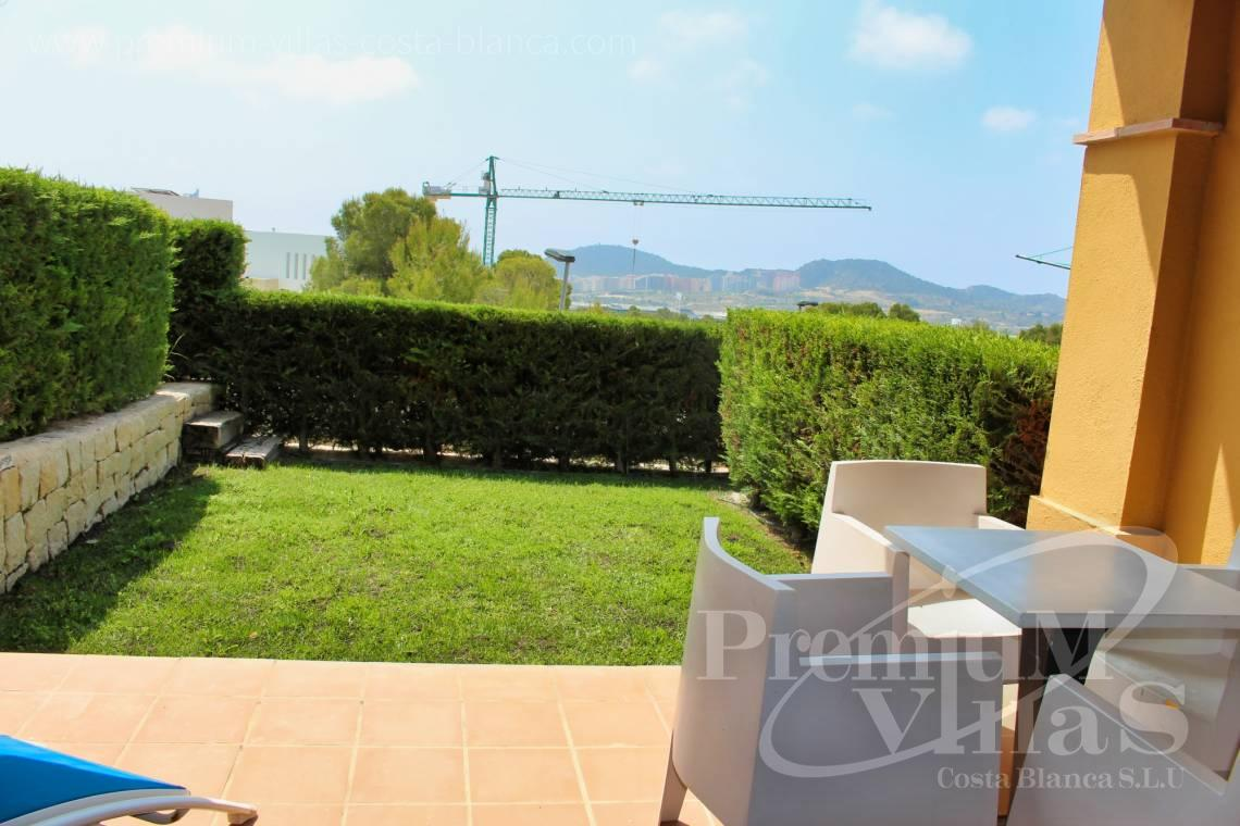 Terraced house for sale with garden in Sierra Cortina Finestrat - C2267 - Terraced houses near the golf course in Finestrat 2