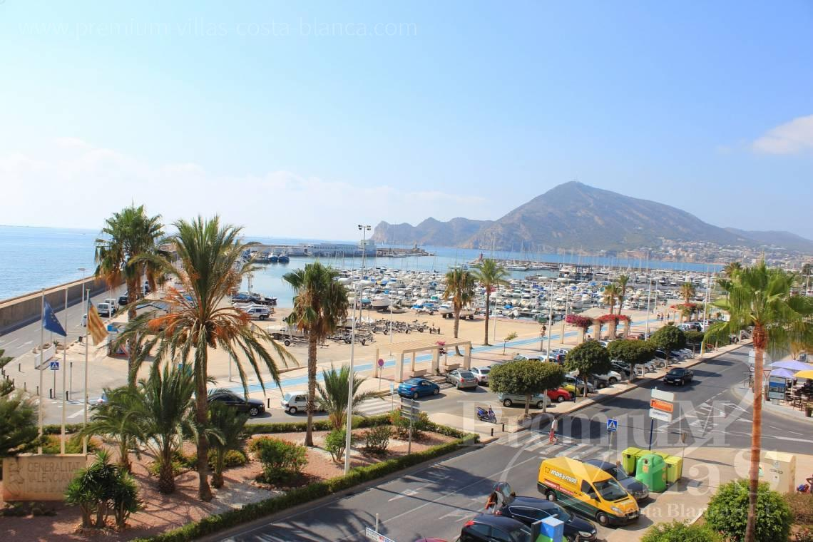 front line apartment for sale Altea - A0398 - 1st line apartment in Altea, only 30m from the beach with great sea view 3