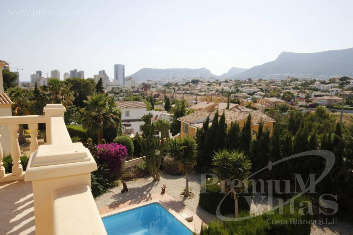 House villa for sale Calpe Costa Blanca - C2183 - Villa in central urbanization of Calpe close to the beaches and all amenities 5