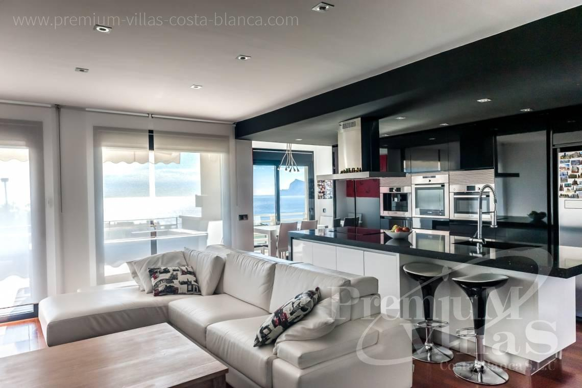 Buy luxury penthouse apartment duplex Altea Costa Blanca - A0566 - Fascinating apartment in Campomanes with stunning sea views 1