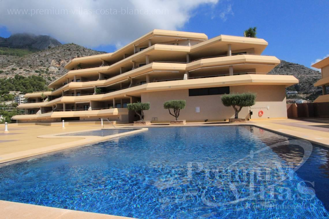 Duplex penthouse apartment with sea views Altea Calpe Costablanca - A0527 - Very spacious apartment with a 162 sqm terrace and fantastic sea views 5