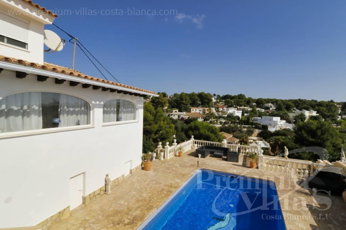 Buy villas houses sea view Benissa Costa Blanca - C2233 - Renovated villa 800m from La Fustera beach 26