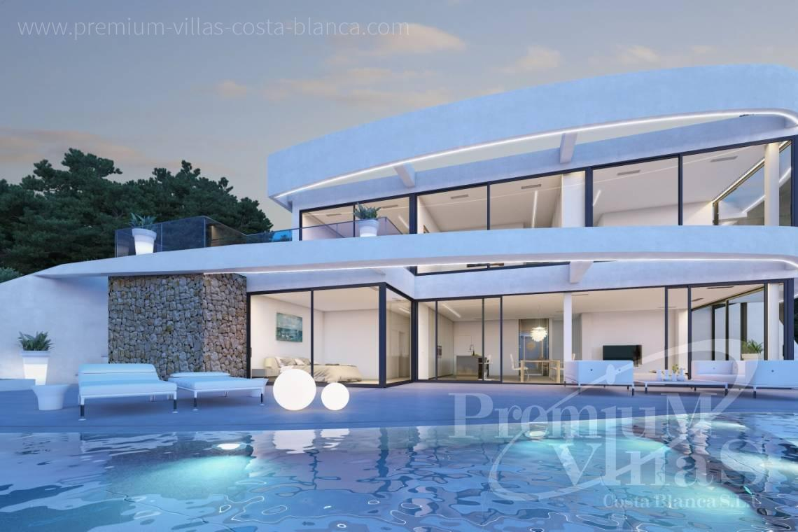 modern house Costa Blanca - C1852 - Our company builds this modern and luxury villa with amazing sea views 1