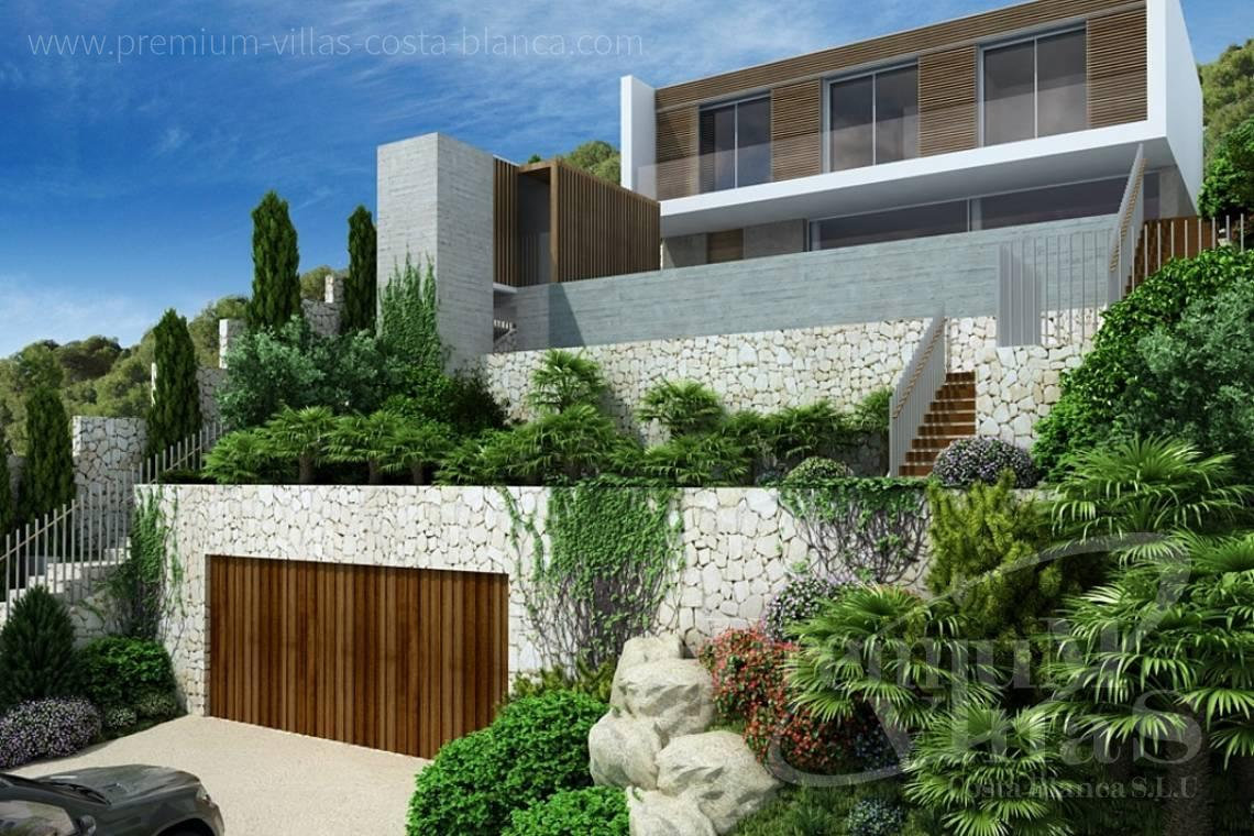 - C1912 - Under constructruction: Modern villa in Altea Hills with great views to the sea! 1