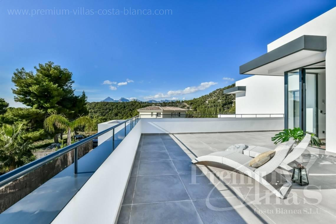 buy house villa Altea Costa Blanca - C2283 - New built modern villa in Altea La Vella 6