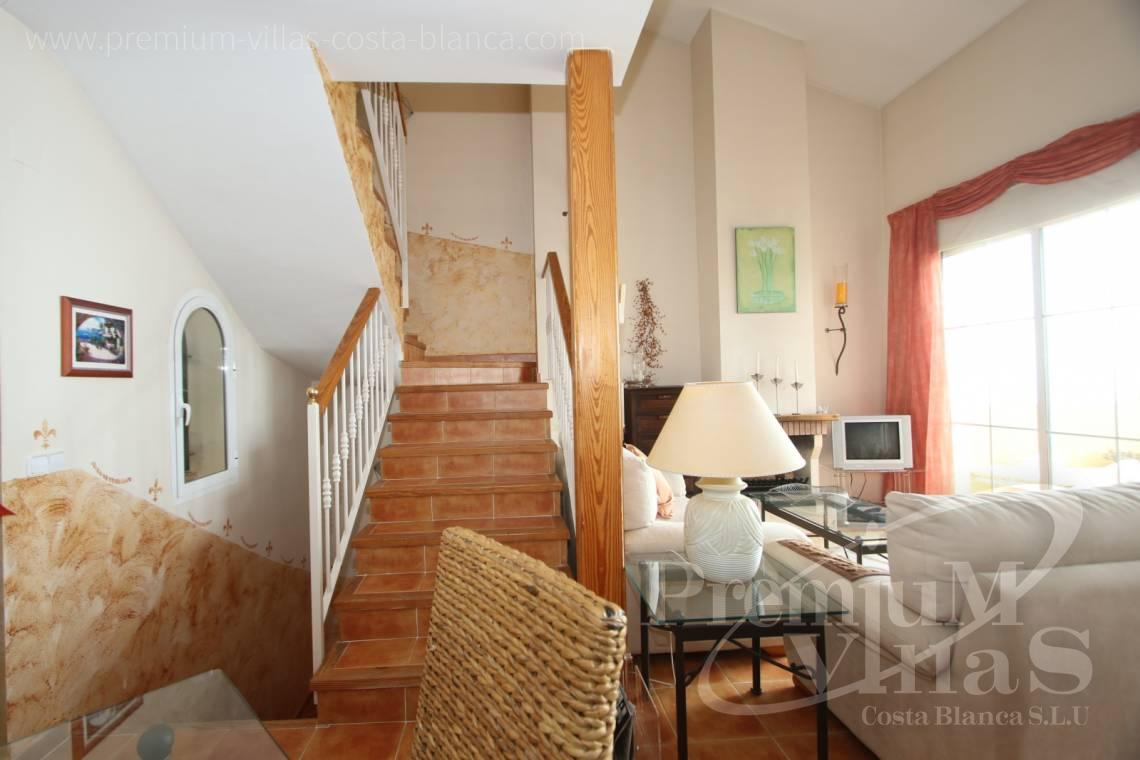 - C2086 - Cosy townhouse with wonderful sea views in the Sierra of Altea 14