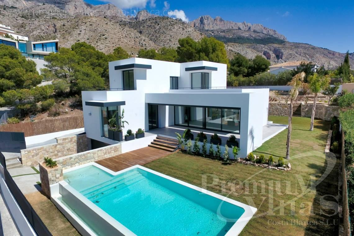 Modern 3 bedroom villa for sale in urbanization Monterico Altea - C2283 - New built modern villa in Altea La Vella 1