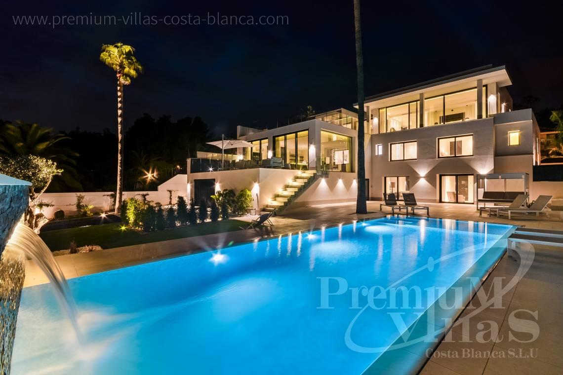 Buy house villa mansion luxury La Nucia Costa Blanca - C2010 - Modern villa with large guest apartment 1