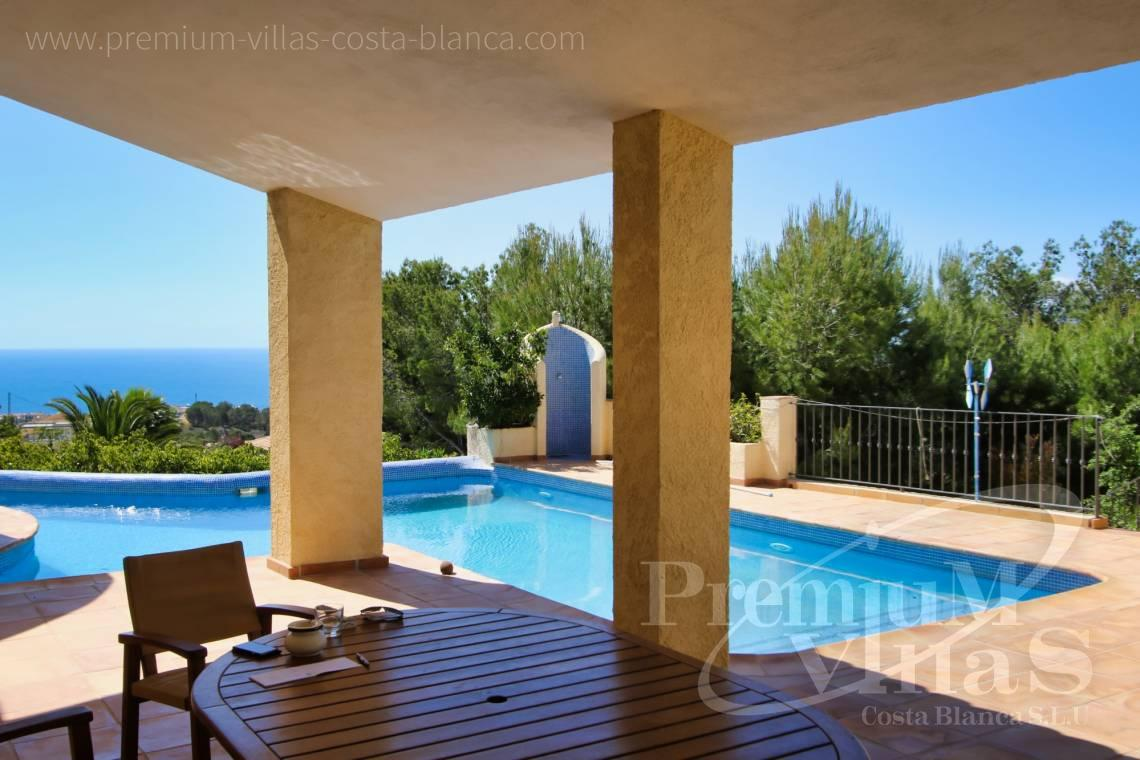 Villa for sale near Don Cayo Golf Club in Altea Spain - C2274 - 4 bedroom villa with sea views in Altea La Vella 5