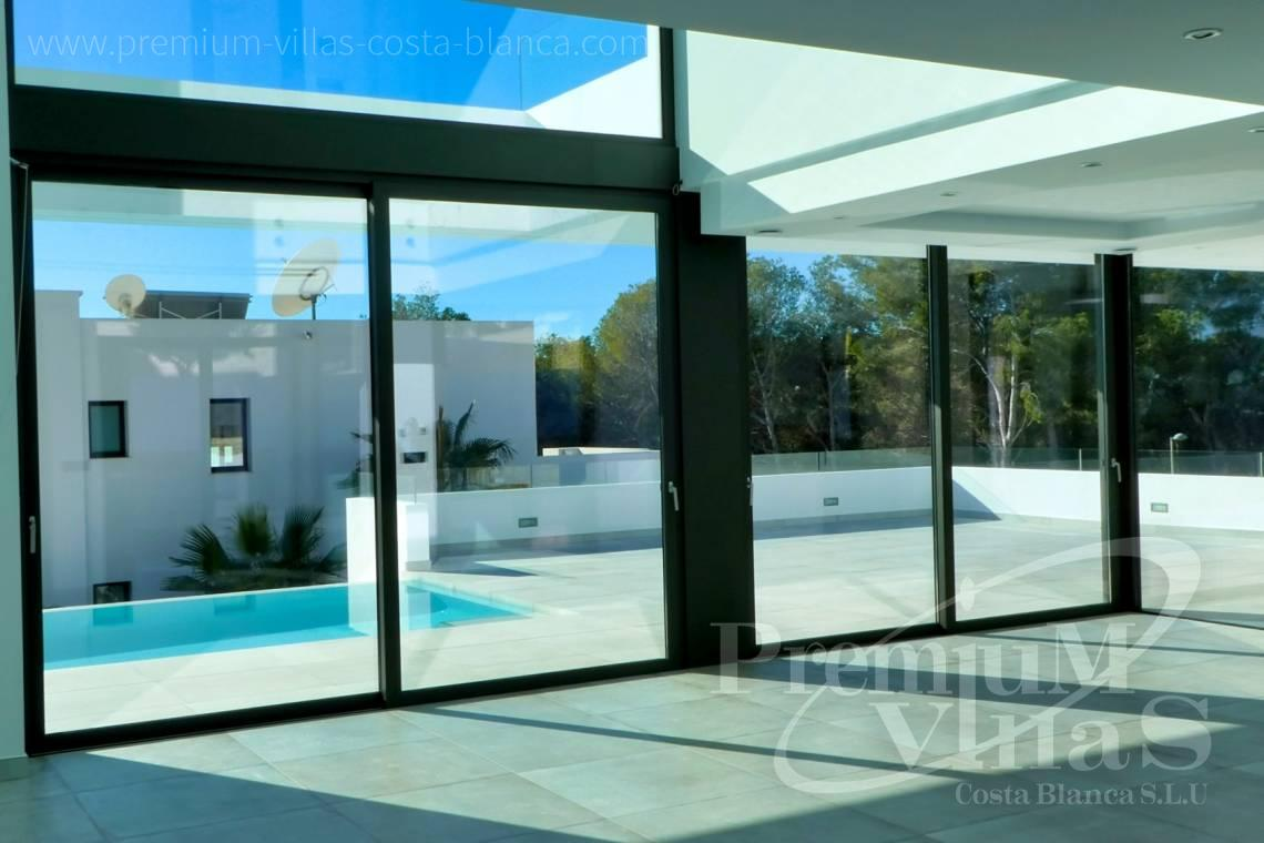 Modern 3 bedroom villa for sale in Moraira Spain - C2176 - Modern villa in Moraira close to the beach and the golf course  8