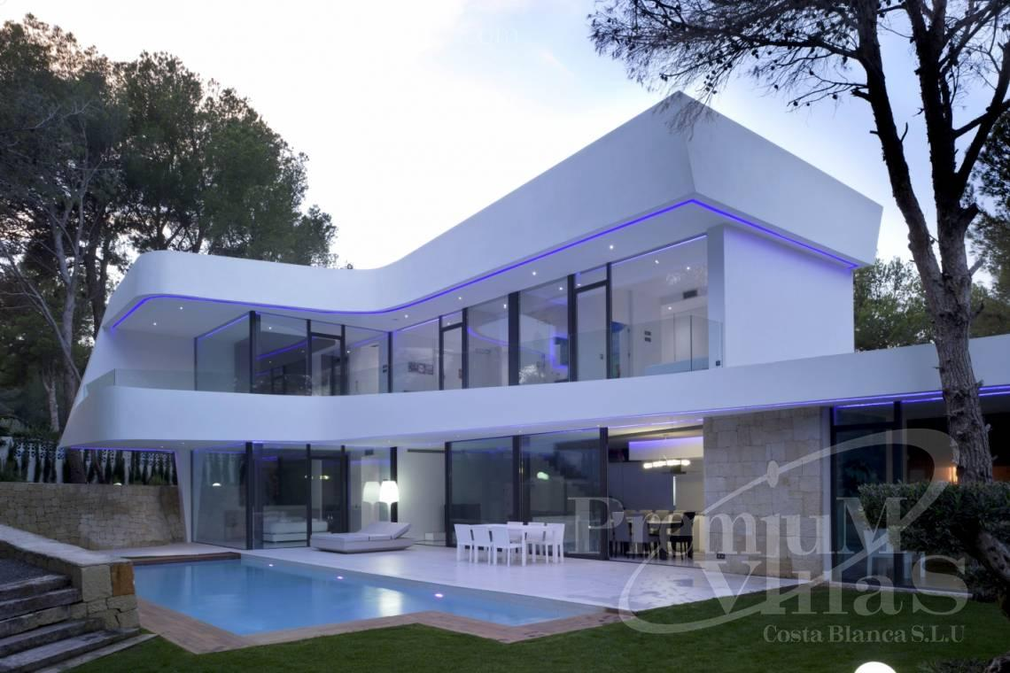 Luxury villa for sale in Altea Costa Blanca - C2104 - Modern house in Altea only 300m from the beach 12