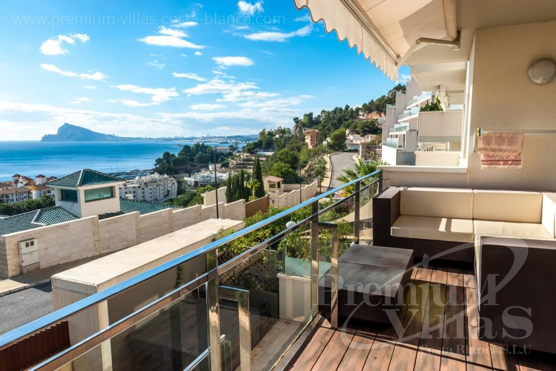 Apartment with sea views Altea Costablanca - A0566 - Fascinating apartment in Campomanes with stunning sea views 5