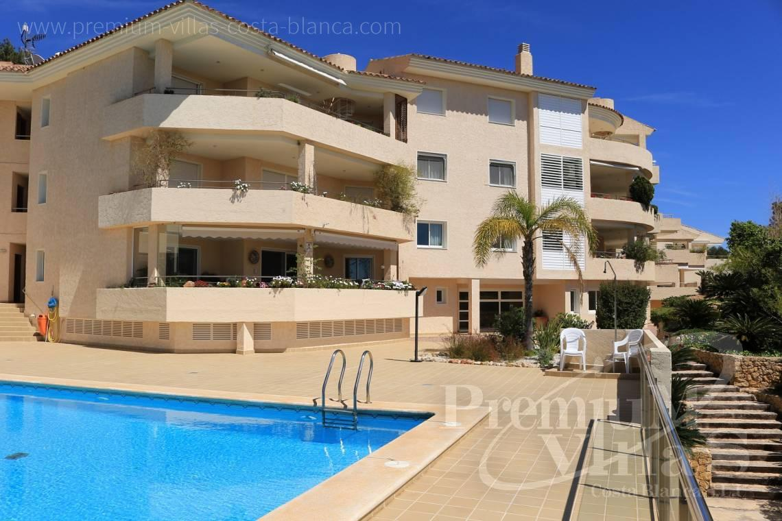 4 bedrooms penthouse apartment sea views Altea Costablanca - A0508 - Apartment with sea views and 4 parking spaces in Altea 11