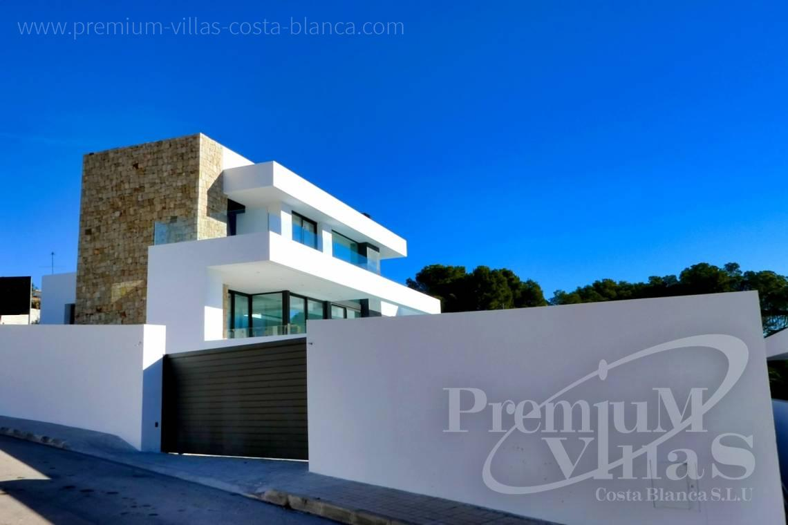 Buy a modern 3 bedroom villa in Moraira Spain - C2176 - Modern villa in Moraira close to the beach and the golf course  7