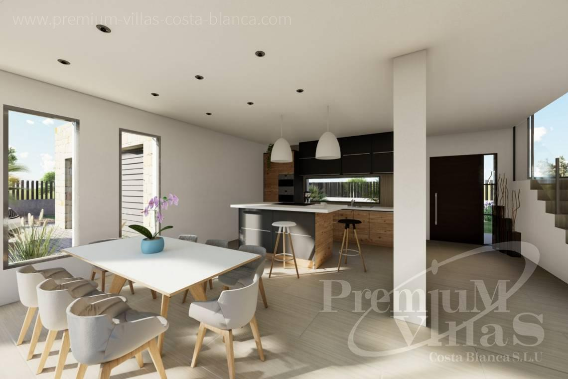 Modern villa in Calpe - C2312 - Modern 4 bedroom villa near the beach in Calpe 8