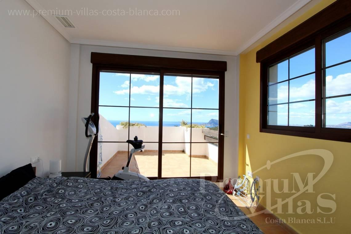 C1781 - Cozy corner townhouse with nice terraces, fantastic sea views in Altea Hills! 10