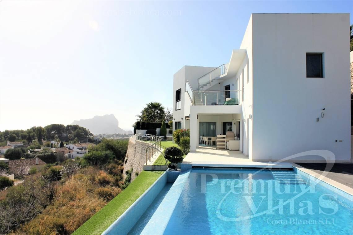Villa house for sale in Benissa - C2142 - Modern villa with fabulous views and heated pool 1
