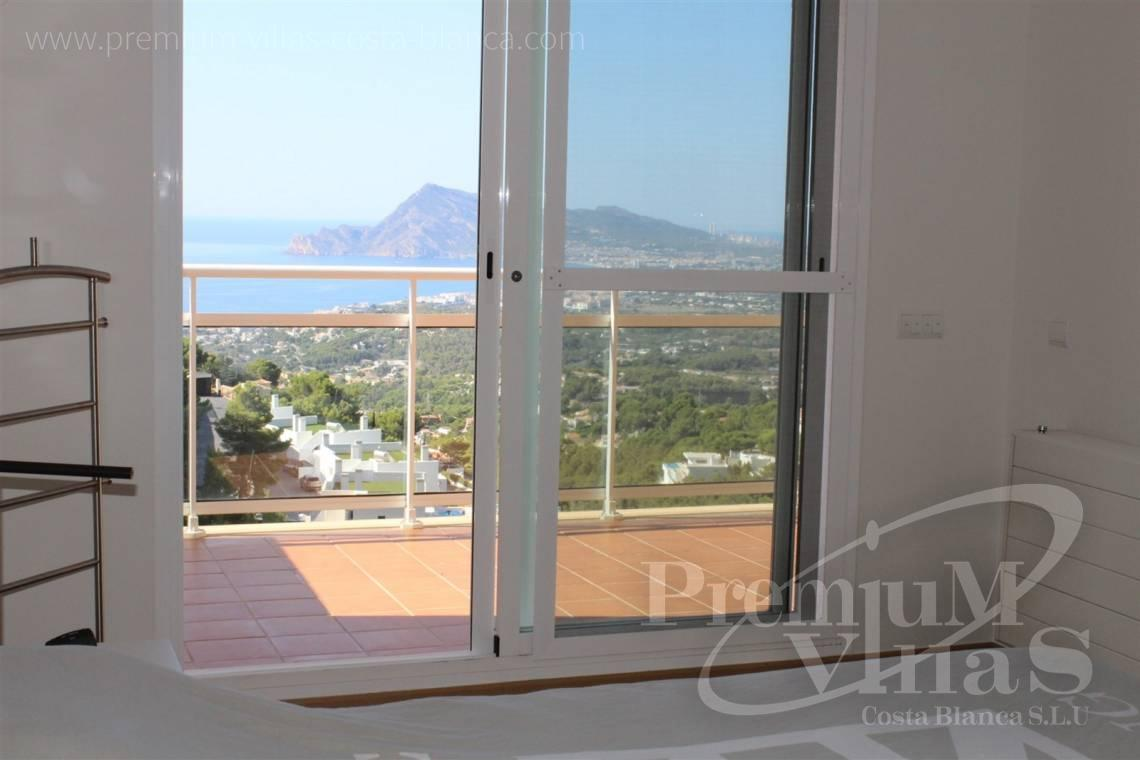buy apartment  Altea Costa Blanca Spain - C2214 - Corner bungalow with panoramic sea and mountain views 29