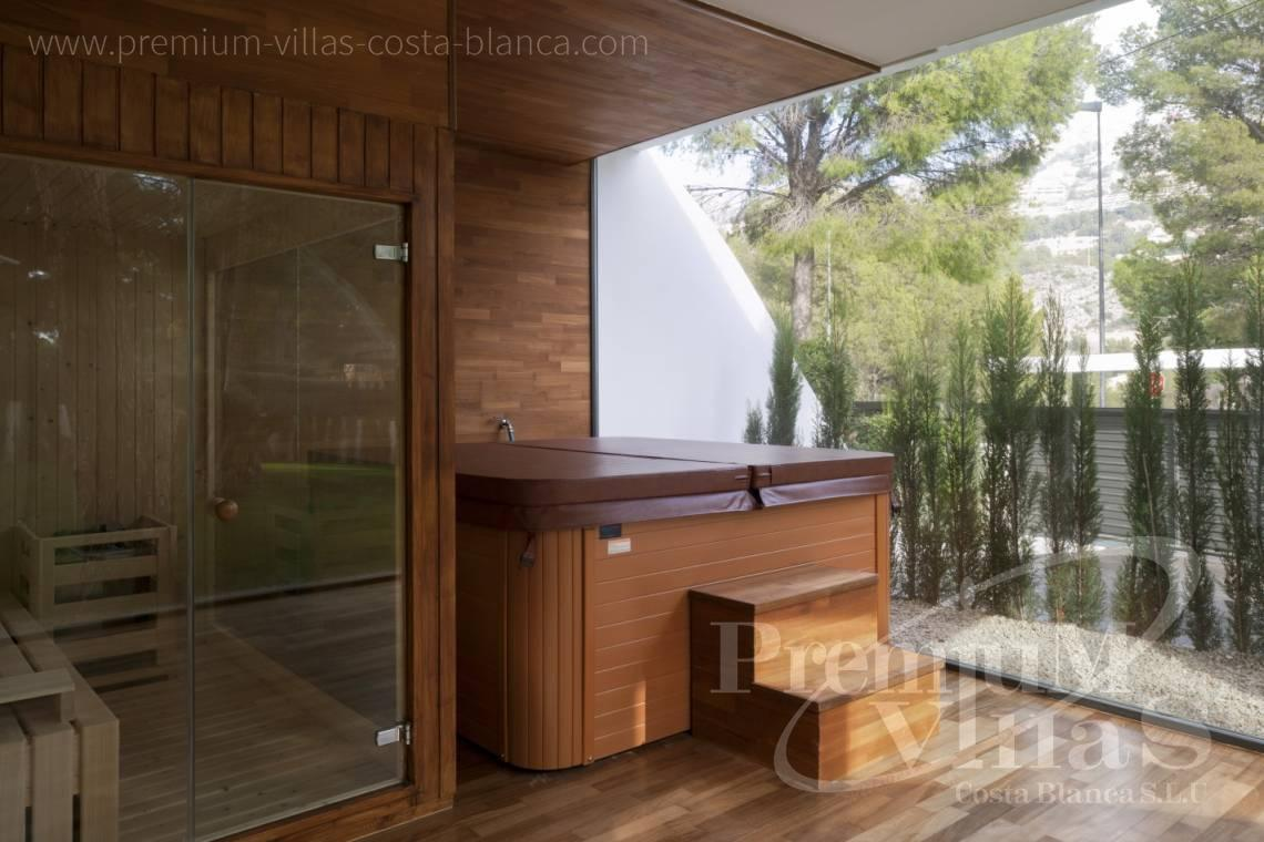 Sauna and jacuzzi in luxury villa close to Campomanes Altea - C2104 - Modern house in Altea only 300m from the beach 6
