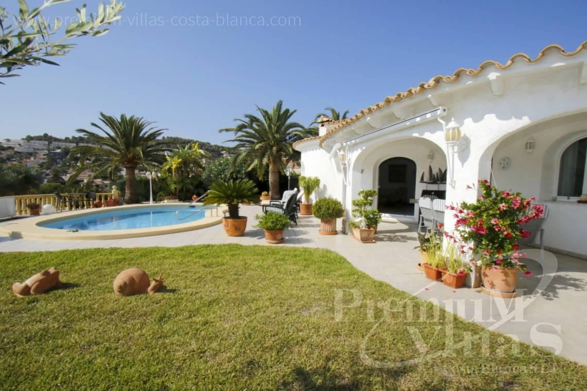 House villa for sale Calpe Costa Blanca - C2202 - Beautiful house on flat plot 20