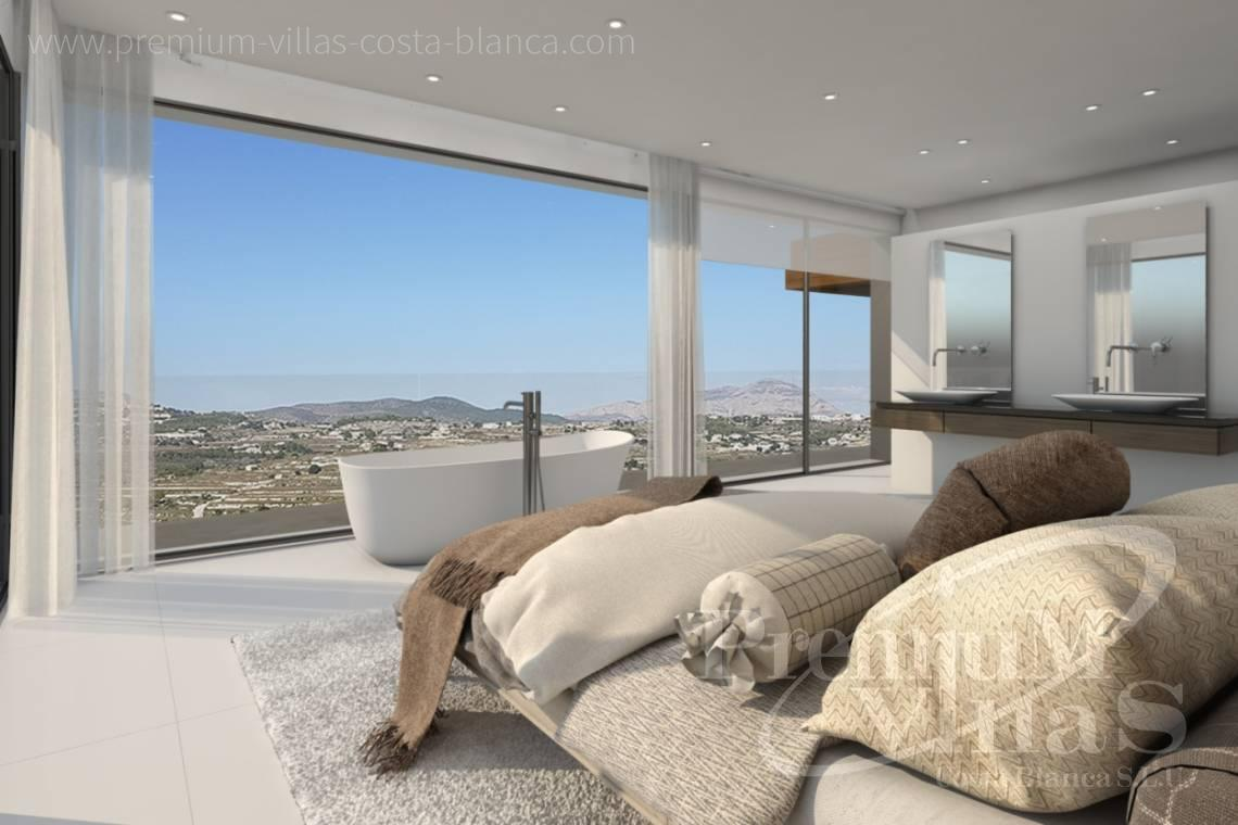 Buy modern villa in Moraira Costa Blanca - C2133 - New construction villa 4km from Moraira 5