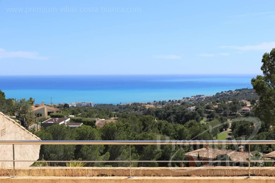 Duplex penthouse apartment sea views Altea Costablanca - A0508 - Apartment with sea views and 4 parking spaces in Altea 3