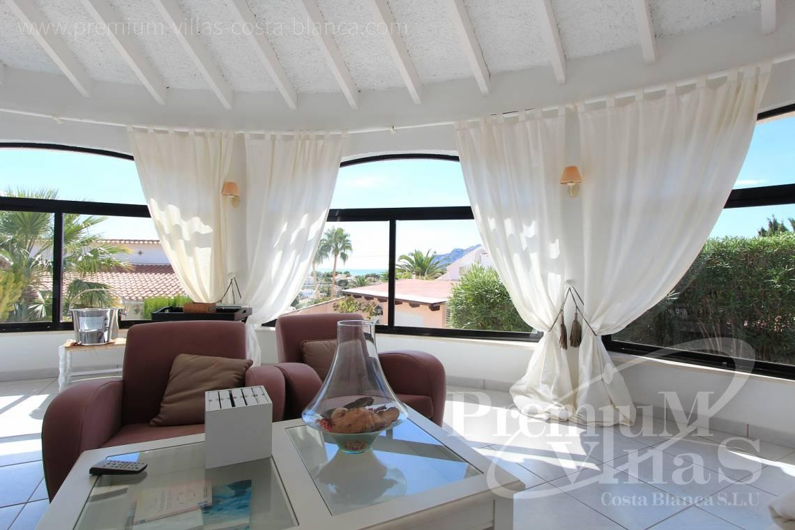 - C1983 - Charming villa with nice seaviews and guest apartment in Calpe  12