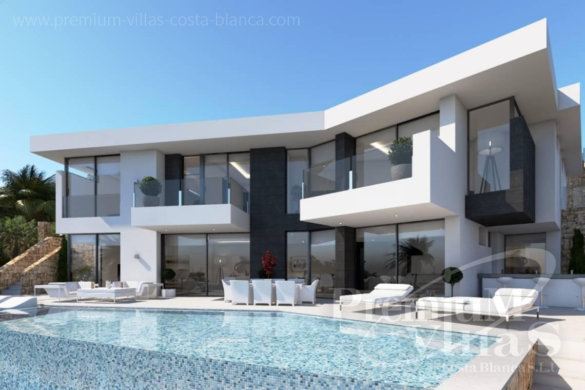 Buy modern villa in Benissa Costa Blanca - C2121 - New project in Benissa with beautiful views and first class qualities. 3