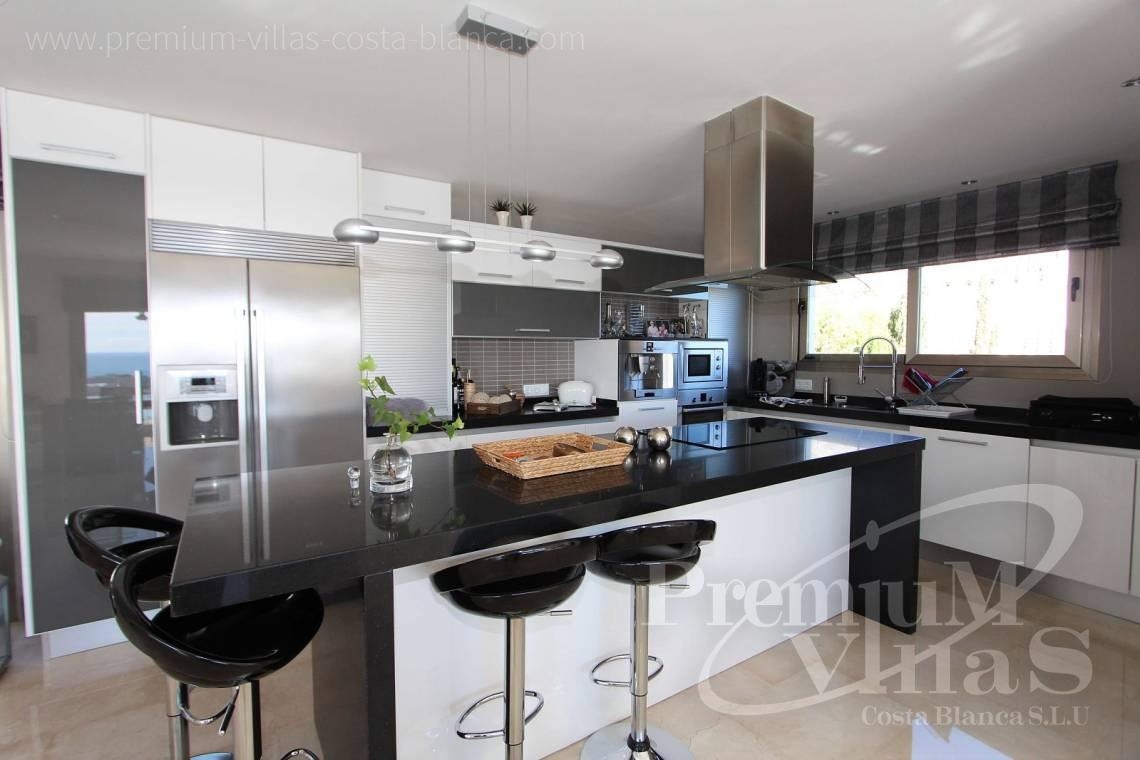Kitchen modern villa in Altea - C2057 - Modern luxury villa in Altea La Vella 21
