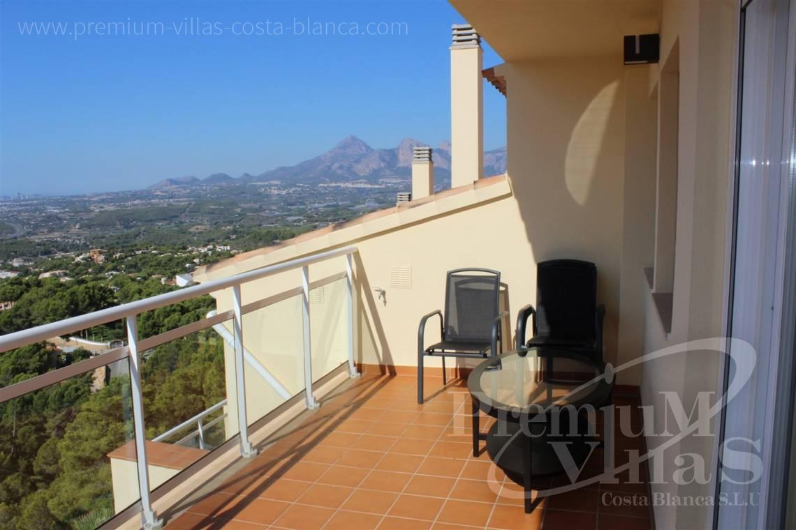buy apartment  Altea Costa Blanca Spain - C2214 - Corner bungalow with panoramic sea and mountain views 30