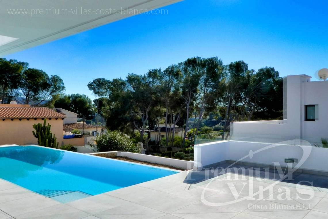 Buy a modern villa near the golf club in Moraira Spain - C2176 - Modern villa in Moraira close to the beach and the golf course  4
