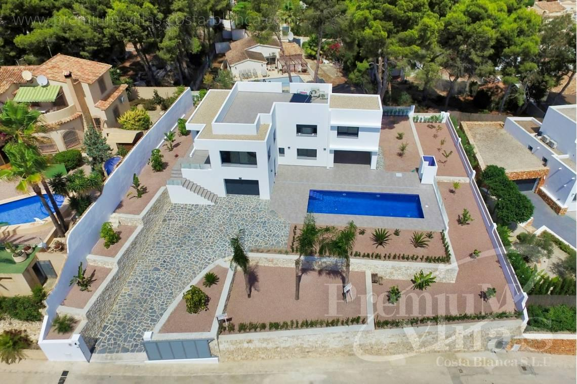 - C2452 - Modern villa with guest appartment in Moraira 1