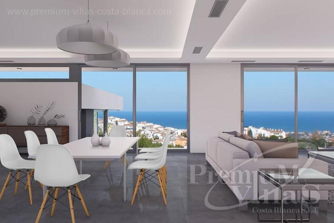 Buy a modern villa on one storey in Oltamar Calpe - C2103 - Modern house built on one floor with breathtaking sea views 6