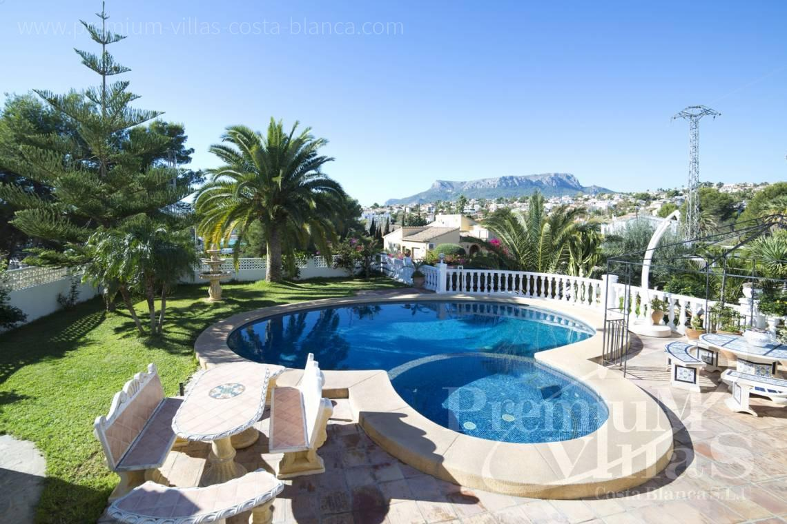 House villa for sale Calpe Costa Blanca - C2171 - Villa in Calpe with guest apartment  2