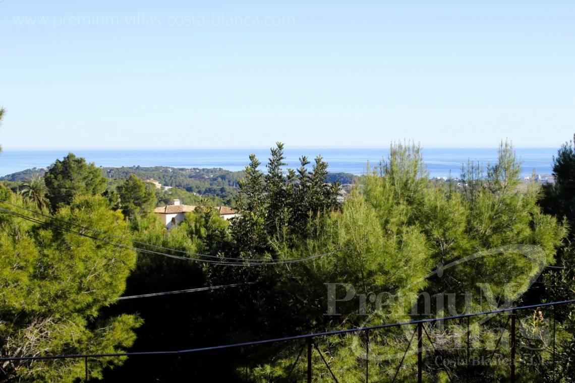 Villas for sale with sea views in Altea - C2132 - House surrounded by nature with beautiful sea and mountain views in Altea. 2