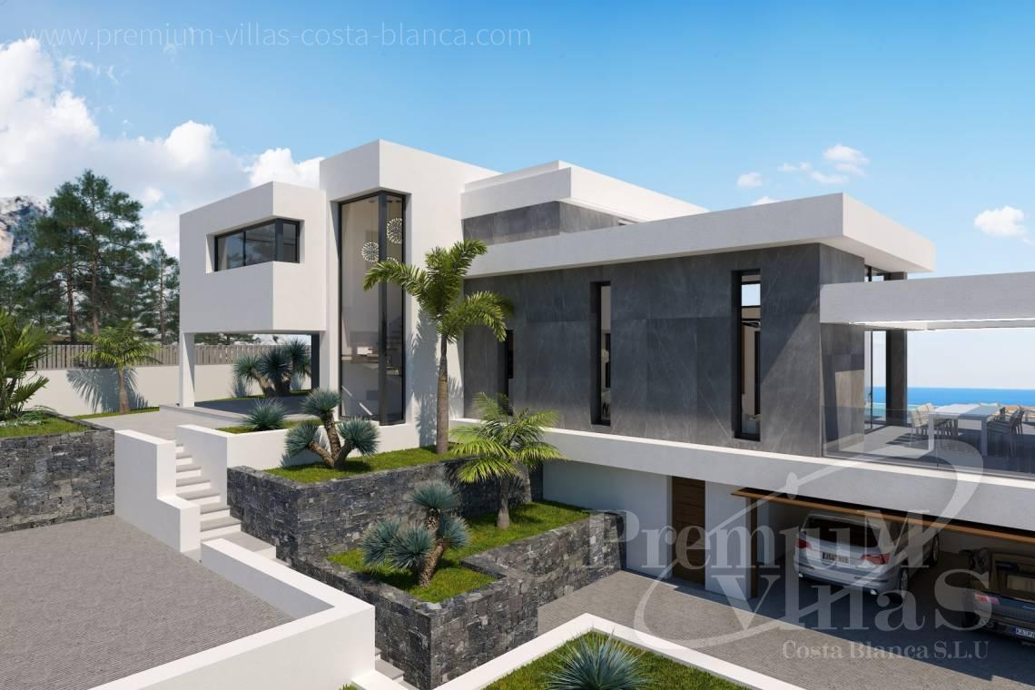 house villa for sale Altea Costa Blanca Spain - C2238 - We build this villa soon at one of the best Altea plots 1