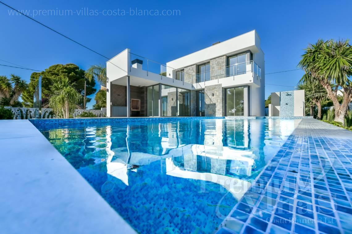 Modern villa for sale in Calpe Costa Blanca - C2368 - Modern villa with sea views in Calpe 1